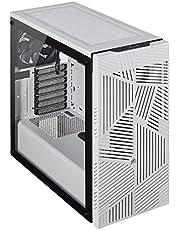 Corsair Cc-9011182-Ww Carbide Serisi 275R Airflow Temperli Cam Yan Panel Mid Tower Oyuncu Bilgisayar Kasası Beyaz