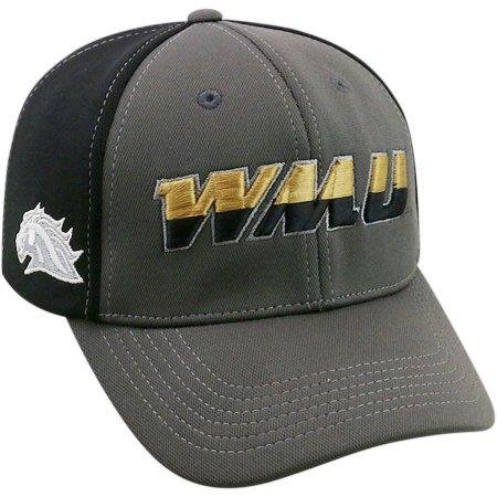 (NCAA University of Western Michigan Broncos Grey Two Tone Baseball Hat \ Cap)