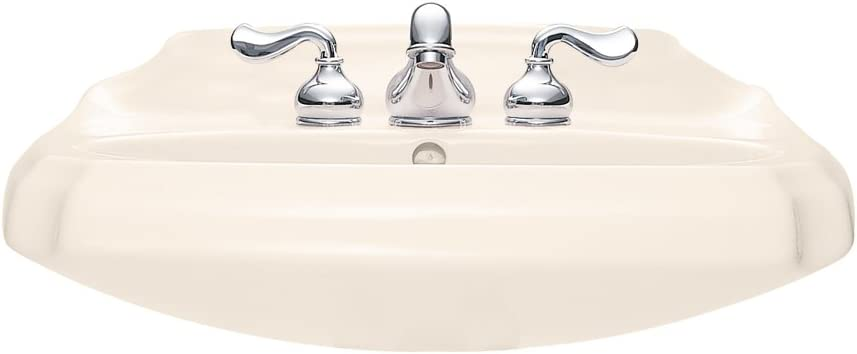 Linen American Standard 0224.014.222 Antiquity Pedestal Top and Leg with 4-Inch Faucet Spacing