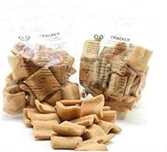 Feeling Ok Crackers Natural Stage1 Formato de alta proteína: 3x 50gr=150gr.