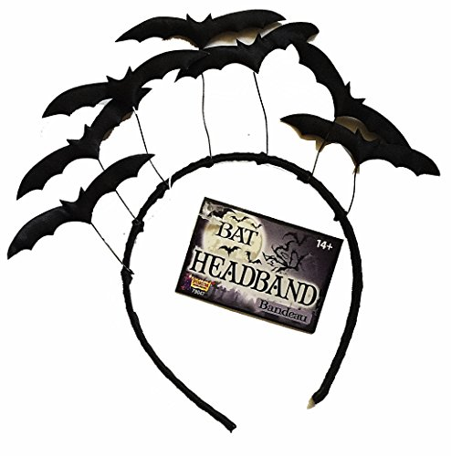 Forum Novelties Halloween Flying Bats Costume Headband (1 Piece) -