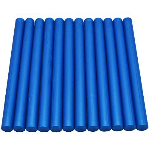 Price comparison product image Royal Blue Sealing Wax Sticks for Vintage wax seal stamp - 12 Sticks