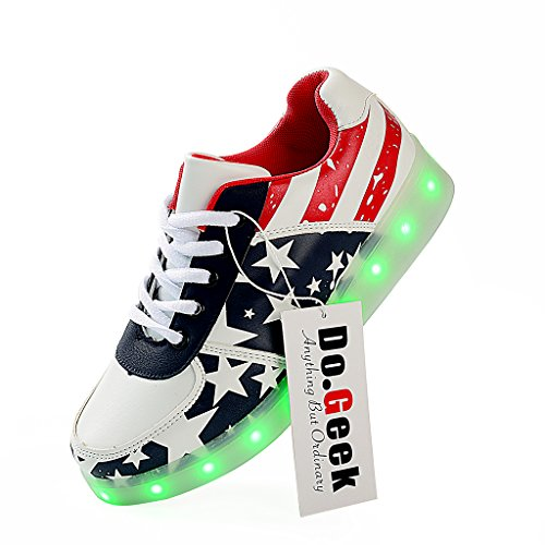 DoGeek Sneakers Womens Colors Stripes