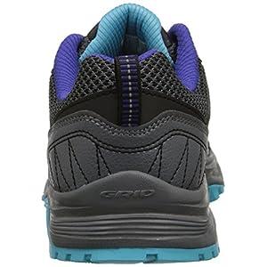 Saucony Women's Excursion TR9 Road Running Shoe, Grey/Blue, 8 M US