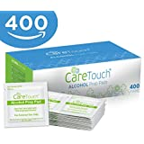 Care Touch Sterile Alcohol Prep Pads, Medium 2-Ply - 400 Alcohol Wipes