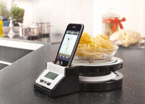 Electronic Kitchen Scale iPod Station