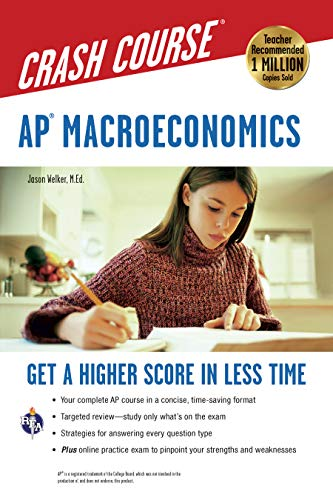 Pdf Teen AP® Macroeconomics Crash Course Book + Online (Advanced Placement (AP) Crash Course)