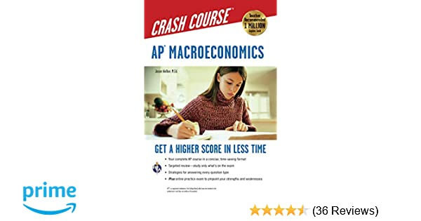 AP Macroeconomics Crash Course Book Online