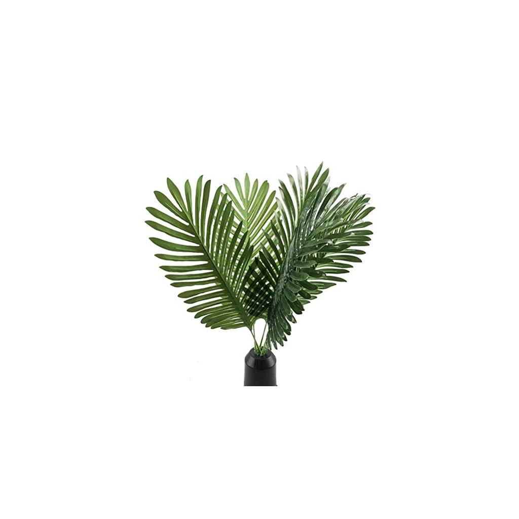 6pcs-Artificial-Palm-Plants-Leaves-Imitation-Leaf-Artificial-Plants-Green-Greenery-Plants-Faux-Fake-Tropical-Large-Palm-Tree-Leaves-for-Home-Kitchen-Party-Flowers-Arrangement