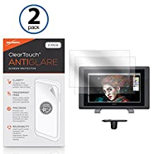 Wacom Cintiq 22HD Touch DTH-2200 Screen Protector, BoxWave® [ClearTouch Anti-Glare (2-Pack)] Anti-Fingerprint Matte Film Skin for Wacom Cintiq 22HD Touch DTH-2200, 22HD DTK-2200