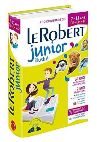 Le Robert Junior Illustre : For Junior School French students (Dictionnaires Scolaires) por Collectif,Alain Rey