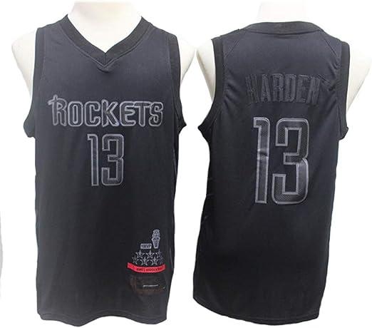 CCKWX Camiseta Unisex De Baloncesto para Hombre: Cohetes James 13 ...
