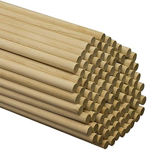 Wooden Dowel Rods 7/16