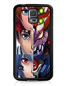 Animation Neon Genesis Evangelion Cute Plastic Phone Case Cover for Samsung Galaxy S5 i9600