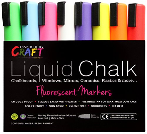 Amazon.com: LIQUID CHALK MARKERS - Premium Chalk Ink Paint Pens ...