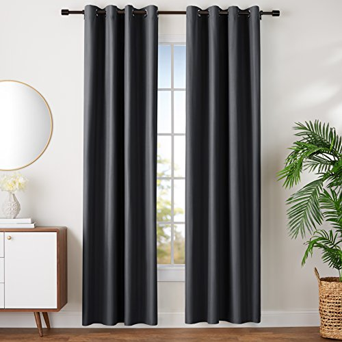 96 black curtain panel - 9