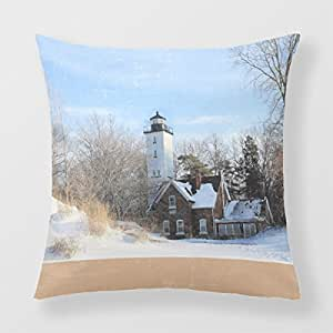 Refiring Pillow Cases Decorative Square Cushion Covers