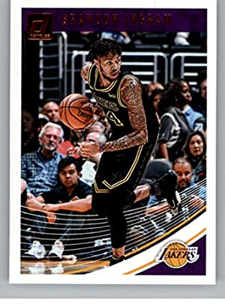 e44bc421cc9 2018-19 Donruss #64 Brandon Ingram Los Angeles Lakers Basketball Card