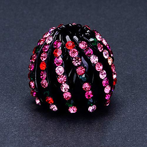 Nest Shape Ponytail Holder Hair Clip Women Hair Claw Girls Hair Accessories (Persimmon Accessories)