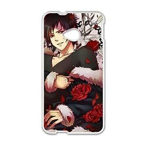 Durable Phone Case Gbvfn HTC One M7 Cell Phone Case White DuRaRaRa Plastic Durable Cover