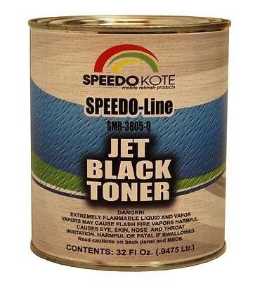 Jet Black toner for automotive basecoat formulas , Quart SMR-3805