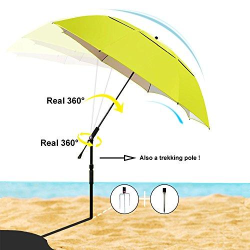 Patio Umbrella Uv Protection: Top 10 Best UV Protection Beach Umbrellas Reviews 2017