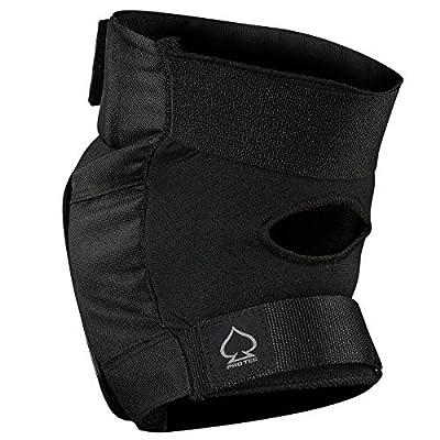 ProTec Street Black Knee & Elbow Pad Set - X-Large : Sports & Outdoors