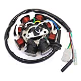 Magneto Stator Ignition Generator 8 Poles Coils GY6 Motorcycle Scooter Moped 50cc 80cc - 5 Wires (MGH0706_ATM)