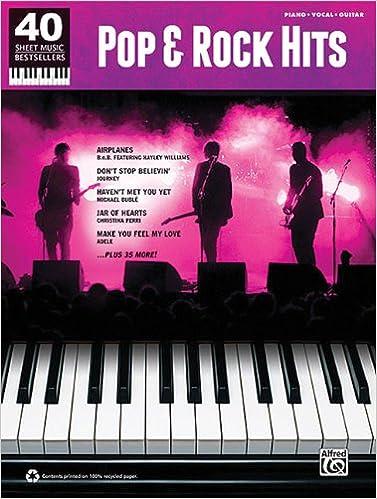 Pop & Rock Hits: 40 Sheet Music Bestsellers Series: Hal