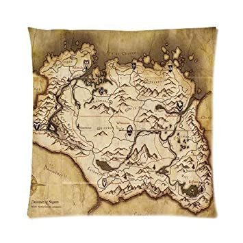Amazon.com: Mundo De Fantasía Tesoro Mapa Gaming Mapa ...