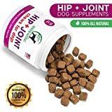 Genuine Naturals™ Glucosamine Chondroitin, MSM, Organic Turmeric Soft Chews, Hip and Joint Supplement for Dogs, Supports Healthy Joint Function and Helps with Pain Relief, 120-Count