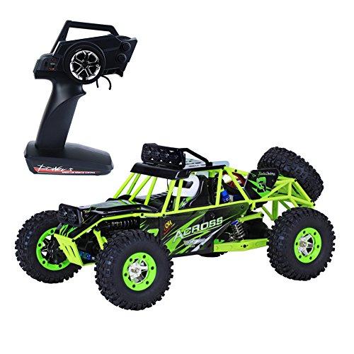Teckey ® 1:12 RC Modellauto Ferngesteuerter Monsterbuggy RTR, Fertig montiert stoßfest 2.4GHz Digital vollproportionale Steuerung ,Allradantrieb für jedes Gelände, High speed bis 50 km/Std