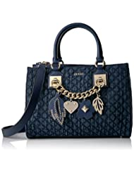 GUESS Stassie Society Satchel, Denim