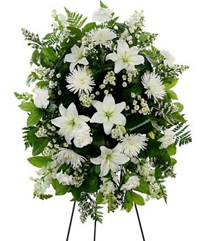 In Your Heart Forever - Same Day Sympathy Flowers Delivery - Condolence Flowers - Funeral Flower Arrangements - Sympathy Plants by eshopclub