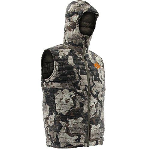 Down Hunting Vest (Nomad Duo-Down Vest-Veil Cervidae-Large)