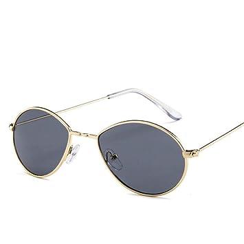 QZHE Gafas de sol Pequeñas Gafas De Sol Ovaladas Mujeres ...