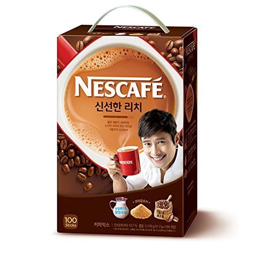 [Change to NESCAFE from Choice] NESCAFE coffee mix (12gx100 follicles) Korean food Korea food Korea tea honey tea tea Korea coffee instant coffee delicious coffee by Nescafé