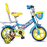 Hero Disney 12T Mickey Junior Cycle With Carrier  8-inches (Blue)