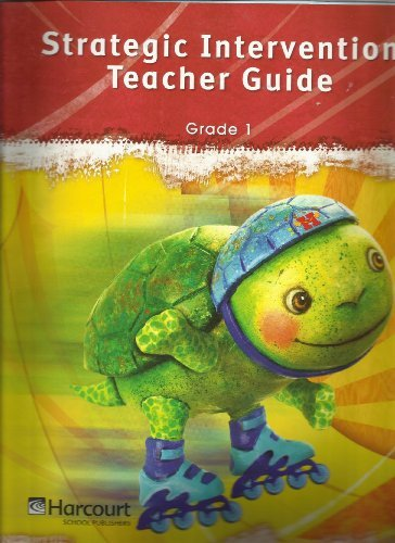 Storytown: Strategic Intervention Teacher's Guide Grade 1 2008 by HARCOURT SCHOOL PUBLISHERS (2006-11-01) pdf epub