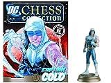 DC Chess Justice League Collector Figure Magazine Captain Cold Black Pawn