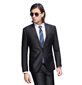 Amazon.com: Traje de negocios para hombre con tuxedos de un ...