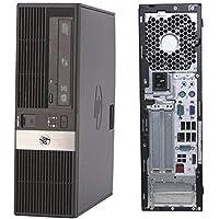 HP RP5800 SFF, Intel Core i5-2500 3.30 GHz, 4 GB DDR3, 250 GB, Windows 7 Pro, Negro Reacondicionado (Renewed)
