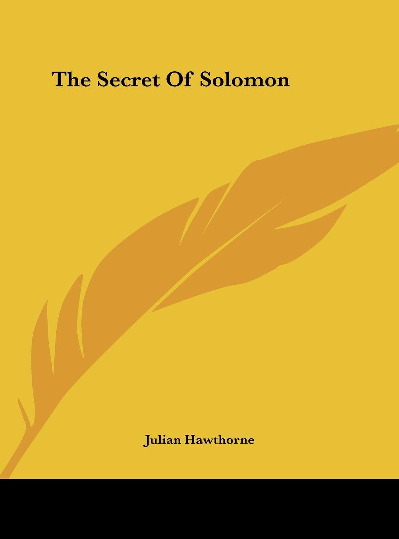 Download The Secret Of Solomon pdf