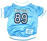 NCAA Dog Jersey, Large, University of North Carolina Tar Heels