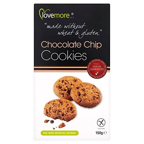 Lovemore Free From Chocolate Chip Cookies – 150g