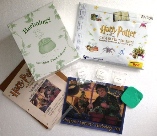 HARRY POTTER & THE CHAMBER OF SECRETS Spells & Potions HERBOLOGY & Other Plant Sciences Kit (2002)