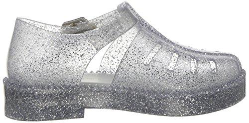 Sparkle Kids' Melissa mini Flat Mini Silver Aranha Sandal 79 16 Light ACUn5FqUW