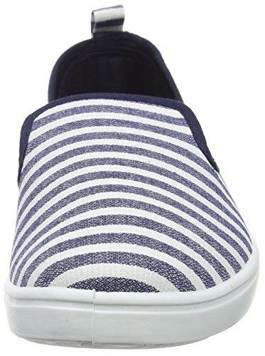 New Look Ashley - Zapatillas para hombre Azul (49/Blue Pattern)