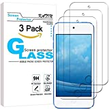 KATIN iPod Touch Screen Protector - [3-Pack] Tempered Glass For Apple iPod Touch 6G (6th Generation) / 5G (5th Generation) Bubble Free 9H Hardness Easy to Install