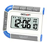 Accuon Digital 4 Channel Timer and Clock